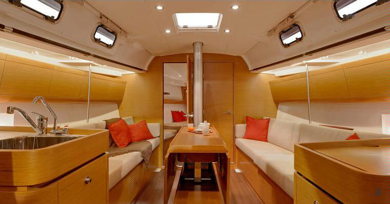 libertas beneteau first 40 saloon
